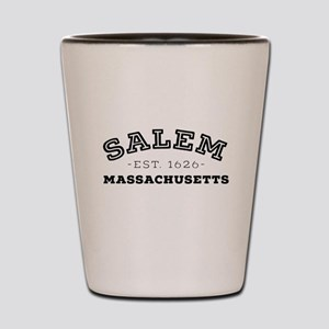 Salem Massachusetts Shot Glass
